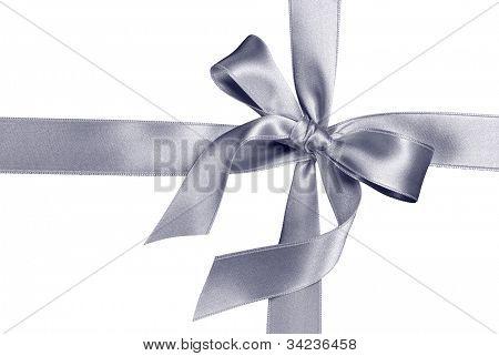 silver silk ribbon