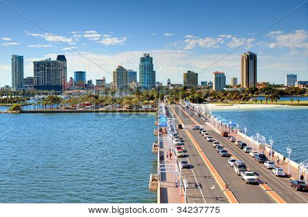 Skyline of St. Petersburg, Florida