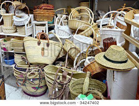 Wicker handicraft