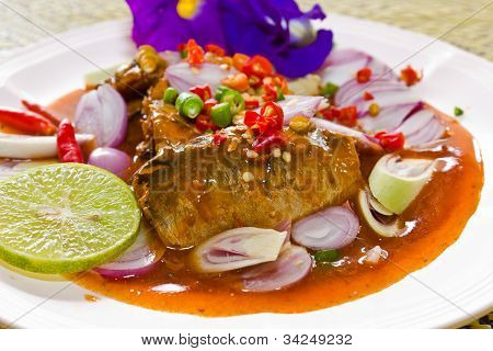 Thai Cuisine , Mackerel Fish