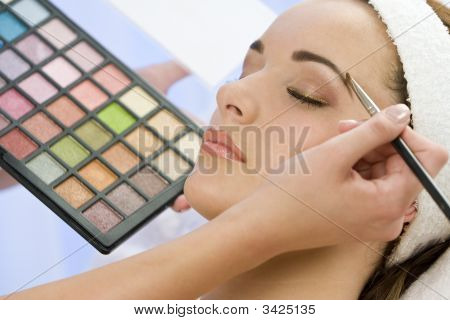Schöne Make-up