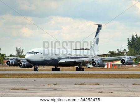 Classic Jet Airplane