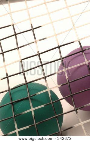 Raqueta pelota equipo 2