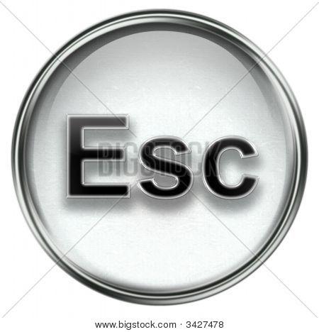 Esc Icon Grey