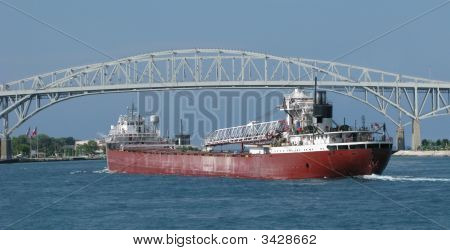 Great Lakes Freighter
