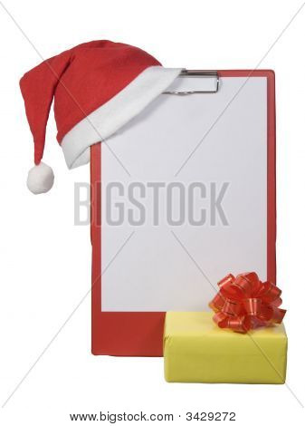 Christmas Clipboard