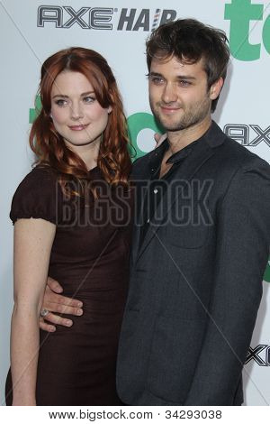 LOS ANGELES - JUN 21:  Alexandra Breckenridge arrives at the