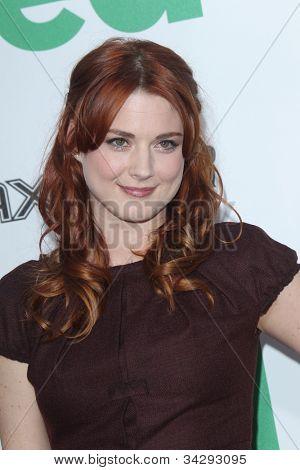 LOS ANGELES - JUN 21:  Alexandra Breckenridge arrives at the