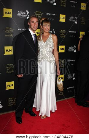 LOS ANGELES - JUN 23:  Kyle Lowder, Arianne Zucker arrives at the 2012 Daytime Emmy Awards at Beverly Hilton Hotel on June 23, 2012 in Beverly Hills, CA