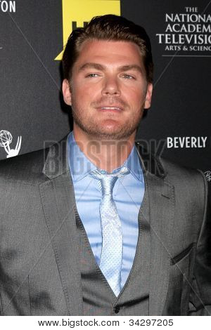 LOS ANGELES - JUN 23:  Jeff Branson arrives at the 2012 Daytime Emmy Awards at Beverly Hilton Hotel on June 23, 2012 in Beverly Hills, CA
