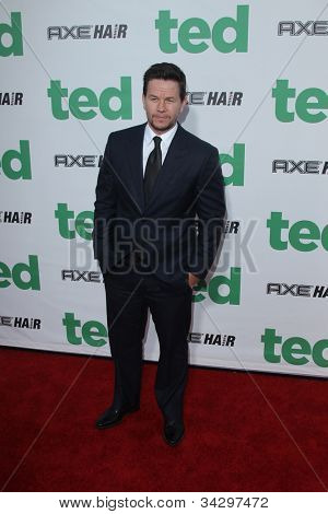 LOS ANGELES - JUN 21:  Mark Wahlberg arrives at the