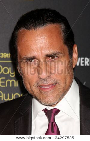 LOS ANGELES - JUN 23:  Maurice Bernard arrives at the 2012 Daytime Emmy Awards at Beverly Hilton Hotel on June 23, 2012 in Beverly Hills, CA