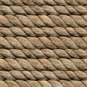 Seamless Hemp Rope Texture Pattern