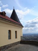 picture of zakarpattia  - Part of the Palanok Castle - JPG