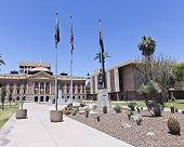 Arizona State Capitol Building In Phoenix, Arizona