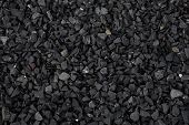 Crushed Gravel Texture Background, Background Made Of A Closeup Of A Pile Of Crushed Stone, Pile Of  poster