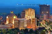 stock photo of asheville  - Downtown Asheville - JPG