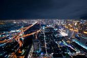 Bangkok Skyline Seen From The Tallest Building In Bangkok. poster