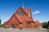Kiruna Church In The Summer