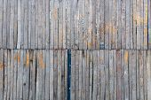 Wooden Wall Texture. Wood Plank Texture, Old And Dirty Wooden Plank Texture. poster