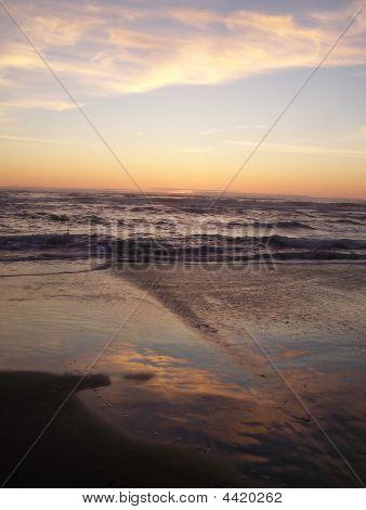 Reflective Sunset