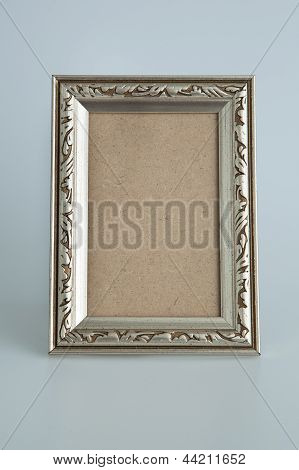 Silver antique frame