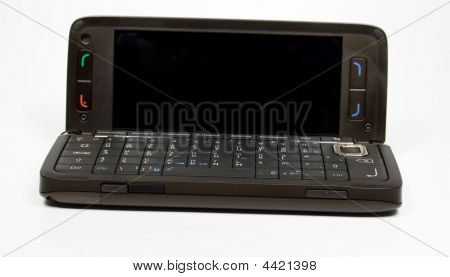 Brown Opened Palmtop