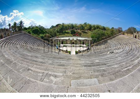 Amphitheatre in Altos de Chavon