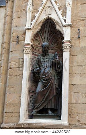 Florence - Church of Orsanmichele. St. John the Evangelist