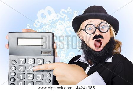 Accountant Pointing To Massive Tax Return Saving