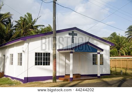 Revival Tabernacle Church Corn Island Nicaragua Central America