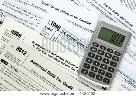 Several tax forms