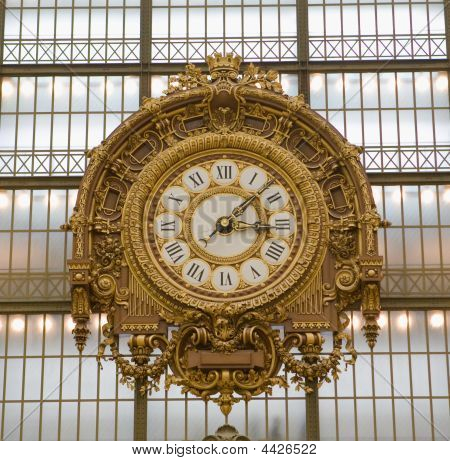 Musee D'orsay Museum Clock