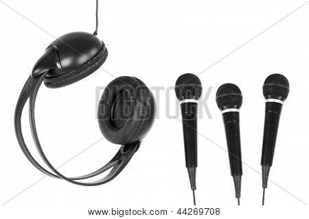 Microphones And Headphones