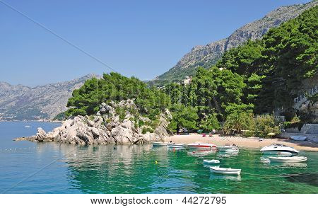 Coastal Landscape,Makarska Riviera,Dalmatia,Croatia