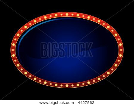 Oval Neon