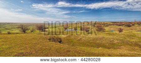 Romanian Countryside Landscape