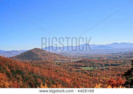 Autumn On Blue Ridge Parkway