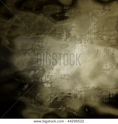 art abstract grunge paper textured dark green and black background