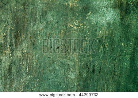 Textura grungy verde
