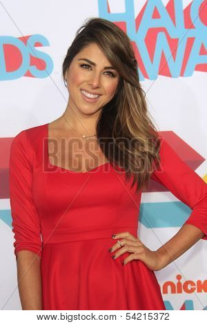 LOS ANGELES - NOV 17: Daniella Monet at the 5th Annual TeenNick HALO Awards at the Hollywood Palladium on November 17, 2013 in Los Angeles, California