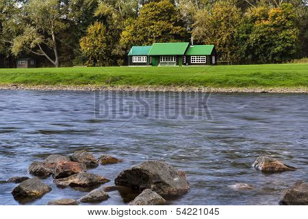 River Spey Fishing Hut