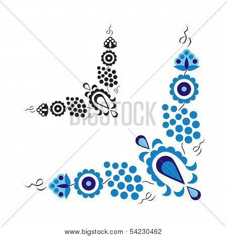 Traditional folk ornament