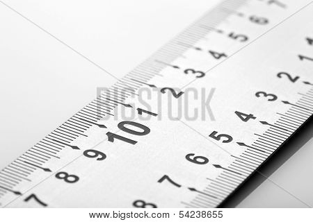 setsquare isolated on white background