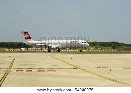 Swiss,  Airbus 321