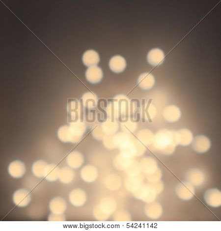 Abstract Natural Blur Defocussed Background With Sparkles, Fine Art, Soft Focus, Greeting Holiday Ca