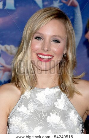 LOS ANGELES - NOV 19:  Kristen Bell at the
