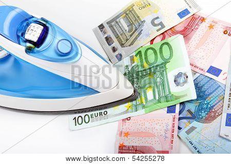 Ironing Euro Money