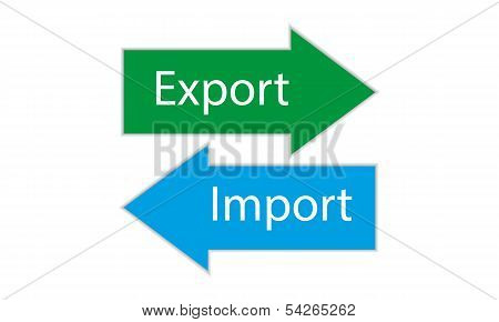 Export Import icons