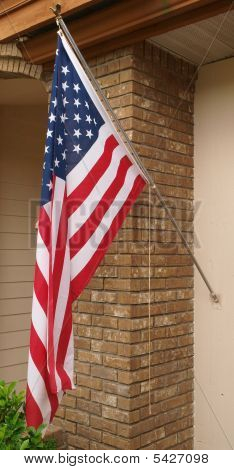 American Flag Left